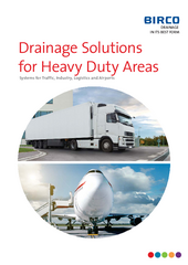 Catalog Drainage Solutions for Heavy Duty Areas