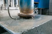 Cuts and bore holes