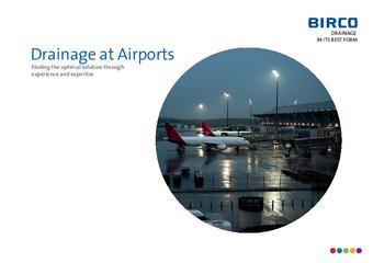 Brochure Drainage at Airports