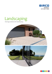 Catalog Drainage solutions for Landscaping