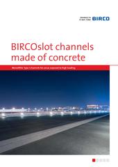 Catalog BIRCOconcrete slot channels