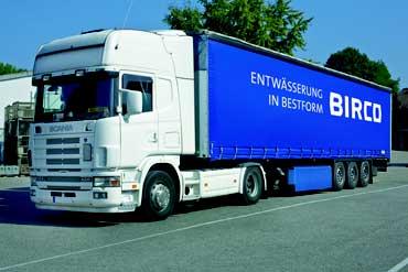 BIRCO Logistique camion
