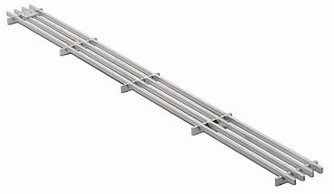 BIRCO Long bar grating   rectangular