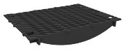 BIRCOsir Large dimensions Nominal width 420 Gratings