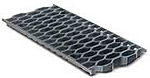 BIRCOsir – kleine Nennweiten Nominal width 200 AS Gratings/covers Honeycomb grating I ductile iron