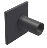 BIRCOsolid grid channel Nominal width 150 Accessories End caps with outlet DN 160 for construction height 405