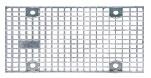BIRCOsir Small dimensions Nominal width 150 Gratings Mesh grating