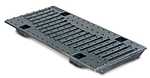 BIRCOsir Small dimensions Nominal width 150 Gratings Design ductile iron grating 'Wave'