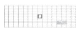 BIRCOlight Nominal width 100 AS Gratings Mesh gratings I MW 30/10 with flat edge