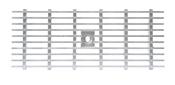 BIRCOlight Nominal width 150 AS Gratings/covers Gitterroste mit Flachrandeinfassung Rutschhemmklasse R11/V10