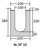 BIRCOprotect Nominal width 100 Channels Channel elements | 1% internal inbuilt fall