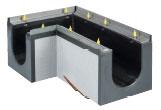 BIRCOdicht Nominal width 200 Channels Corner pieces 90° | without internal inbuilt fall