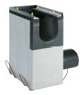 BIRCOdicht Nominal width 150 Outfall units In-line outfall unit | 1-piece