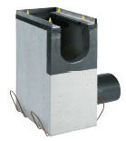 BIRCOdicht Nominal width 300 Outfall units In-line outfall unit I 1-piece