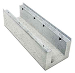 BIRCOcanal Nominal width 150 Channels Supply channels with angles I without cast-in mounting rails