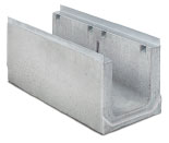 BIRCOcanal Nominal width 300 Channels Supply channels with angles I cast-in mounting rails