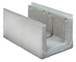 BIRCOcanal Nominal width 400 Channels Supply channels with angles I with cast-inmounting rails
