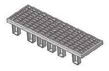 BIRCOplus Nominal width 100 Gratings BIRCOlight NW 100 | Facade mesh grating