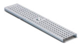 BIRCOtop F-Series without visible edge profile 100 (Outer width) Gratings Perforated gratings I circular hole