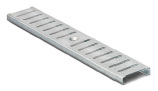 BIRCOtop F-Series without visible edge profile 100 (Outer width) Gratings/covers Slotted gratings