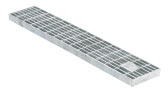 BIRCOtop F-Series without visible edge profile 100 (Outer width) Gratings Mesh gratings