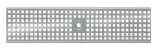 BIRCOtop F-Series without visible edge profile 130 (Outer width) Gratings Perforated gratings I square hole