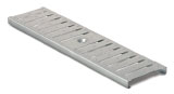 BIRCOtop F-Series without visible edge profile 130 (Outer width) Gratings Slotted gratings