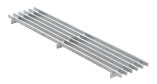 BIRCOtop F-Series without visible edge profile 130 (Outer width) Gratings Longitudinal bar gratings