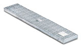 BIRCOtop F-Series without visible edge profile 130 (Outer width) Gratings Mesh gratings
