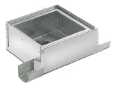 BIRCOtop S-Series Slotted channels Maintenance chambers Maintenance chambers