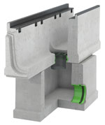 BIRCOmax-i Nominal width 320 Outfall unit In-line outfall-unit I 2-part