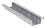 BIRCOtop F-Series with visible edge profile 160 (Outer width) Channels Channel elements I with visible edge I perforated on two sides