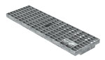 BIRCOtop F-Series without visible edge profile 160 (Outer width) Gratings Mesh gratings