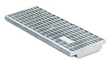 BIRCOtop F-Series without visible edge profile 210 (Outer width) Gratings Mesh grating