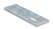 BIRCOtop F-Series without visible edge profile 160 (Outer width) Gratings/covers Mesh gratings I MW 30/10