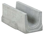 BIRCOslotted steel covers Nominal width 150 AS Base channels channel elements NW 150 AS for slotted steel covers/access covers I without angle