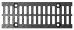 BIRCOprotect Nominal width 100 Gratings Ductile iron slotted grating I twofold