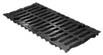 BIRCOprotect Nominal width 150 Gratings Ductile iron slotted grating I twofold