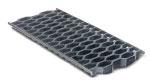 BIRCOsolid grid channel Nominal width 150 Gratings/covers Cast honeycomb grating