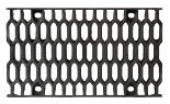 BIRCOsolid slot channel Profile 200/300 Gratings Ductile iron honeycomb grating