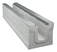 BIRCOmassiv Nominal width 220 Channels Channel elements I without internal inbuilt fall I with 1-piece hot-dipped galvanised surface protection
