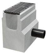 BIRCOsir Large dimensions Nominal width 320 Outfall units Shut-off outfall unit | 1-piece