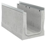 BIRCOcanal Nominal width 320 Channels Supply channels with angles I without cast-in mounting rails