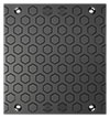 BIRCOcanal Nominal width 420 Gratings Hexagon ductile iron cover I for supply channels with angles