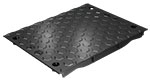 BIRCOcanal Nominal width 520 Gratings Hexagon ductile iron cover I for supply channels with angles