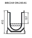 BIRCOpur Dimension nominale 200 (plaque drainante) Channels Channel with filtration set without internal gradient