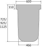 BIRCOmax-i Nominal width 420 Accessories End caps